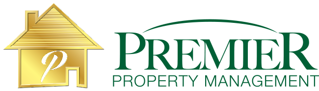 web logo for Premier Property Management